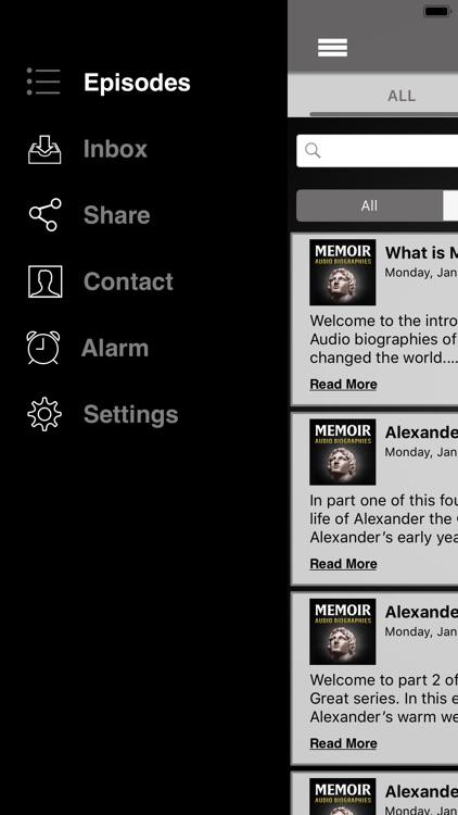 Memoir: Audio Biographies screenshot-3