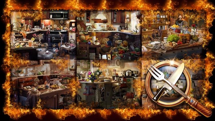 Hidden Object: Hell's Kitchen