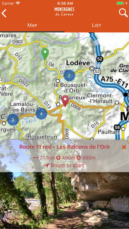 Montagnes du Caroux screenshot-2