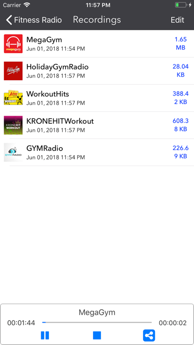 Fitness Radio- Live Workout FM screenshot three