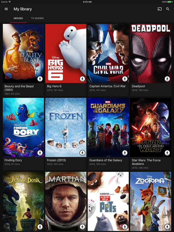 Google Play Movies & TV-ipad-1