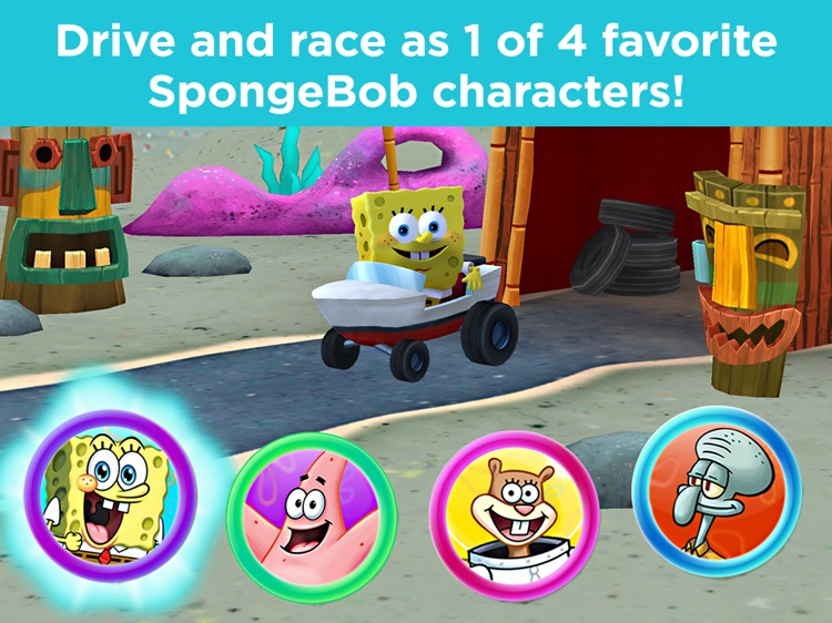 Smart Cycle SpongeBob Deep Sea screenshot-3