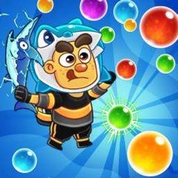 Jelly Bubble Pop! Ocean Recuse