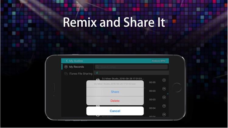 DJ Mixer Studio:Remix Music screenshot-3