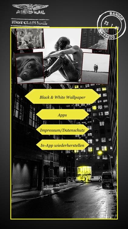 Black and White - Ecard Maker screenshot-4