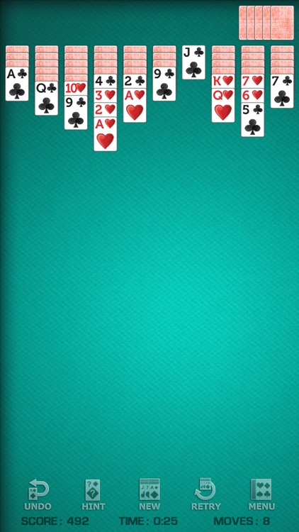 Spider Solitaire Pro! screenshot-0