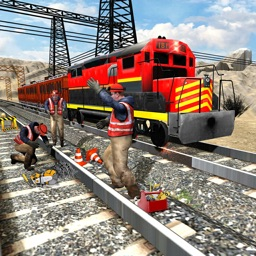 Train track construction games