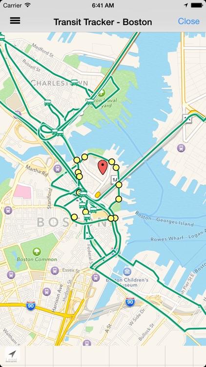 Transit Tracker - Boston