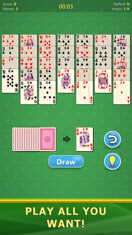 Golf Solitaire - Card Game screenshot-6