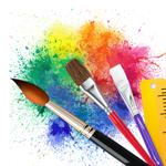 Эскиз, рисование, краска на пк