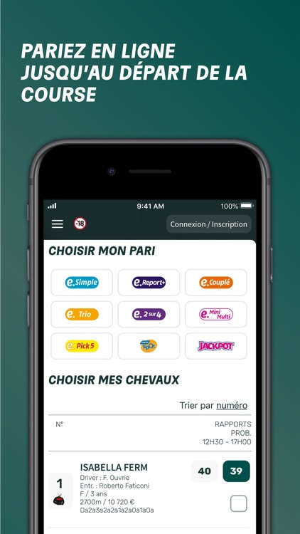 PMU.fr - Pari Hippique & Turf screenshot-3