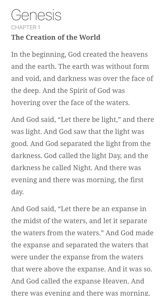 Read Scripture Screenshot