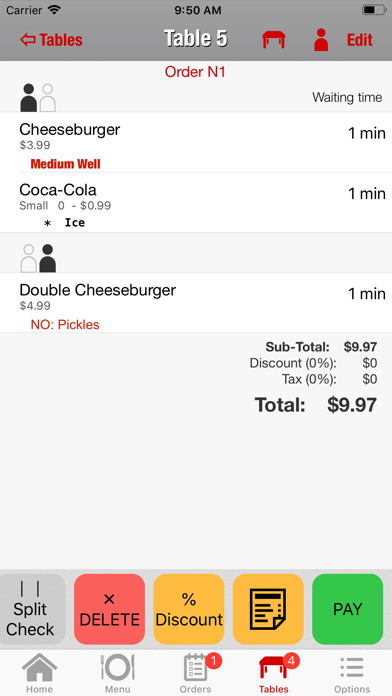 WAITER: Restaurant POS System på PC