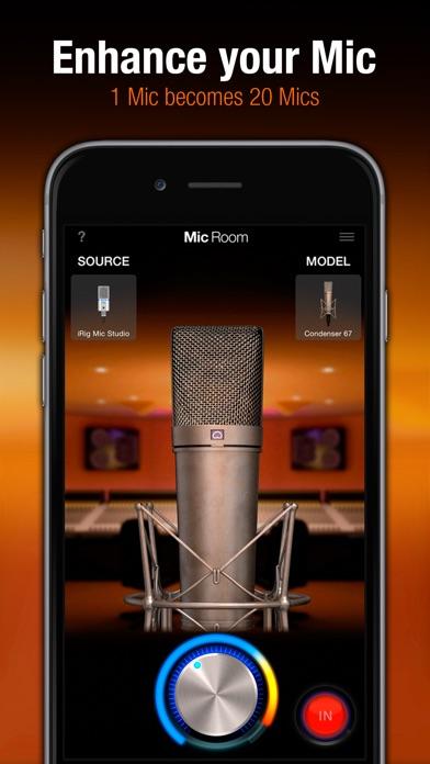 Mic Room Screenshots