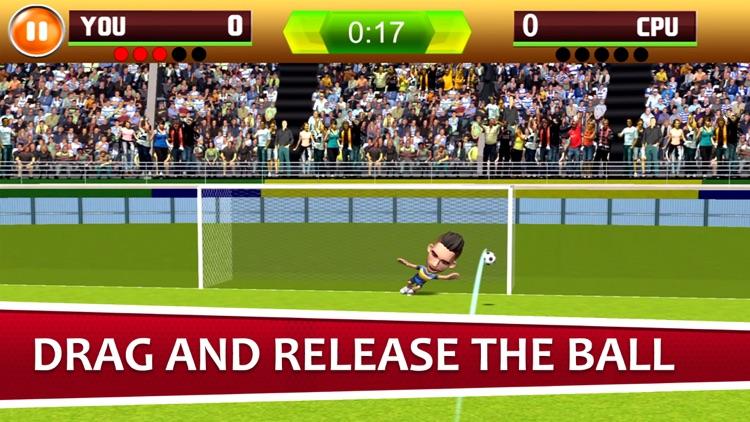 Flick Shoot Soccer Champion 18 screenshot-3