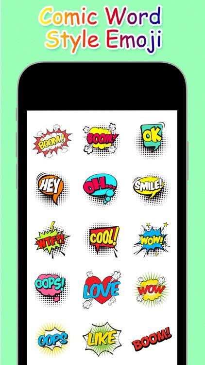 Comic Word Style Emoji