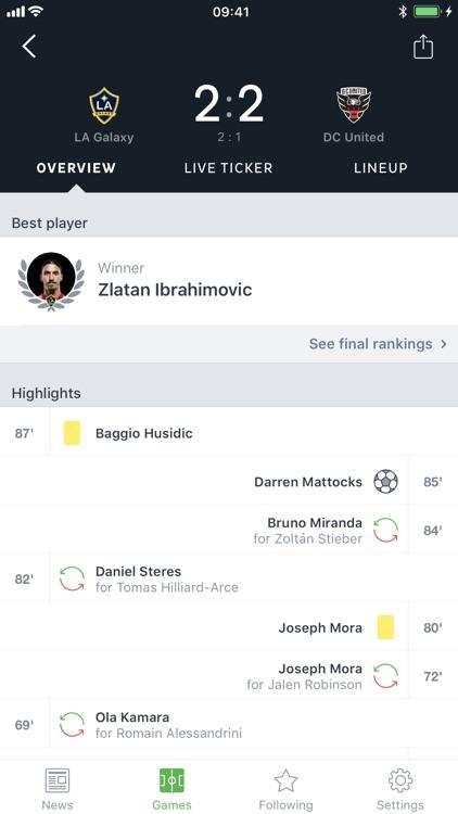 Onefootball Soccer Scores