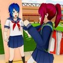 Anime Bad School Girl Life