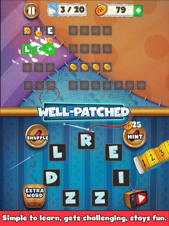 Patch Words - Word Puzzle Game screenshot #5