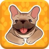 French Bulldog Emojis Star