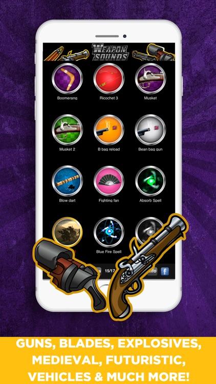 100+ Weapon Sounds & Buttons screenshot-3