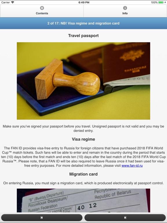 Russia Travel Fan Guide Скриншоты9