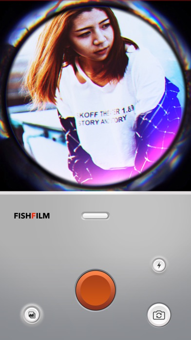 FishFilm - Рыбий глаз камера