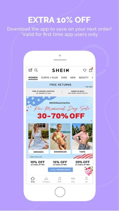 SHEIN-Fashion Shopping Online på PC