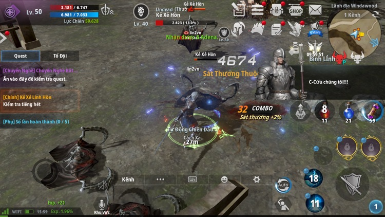 Lineage2 Revolution Vietnam screenshot-5