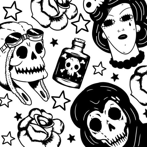 TatStamp - Tattoo Stickers iOS App