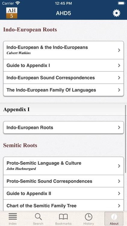 American Heritage Dictionary 5 screenshot-6