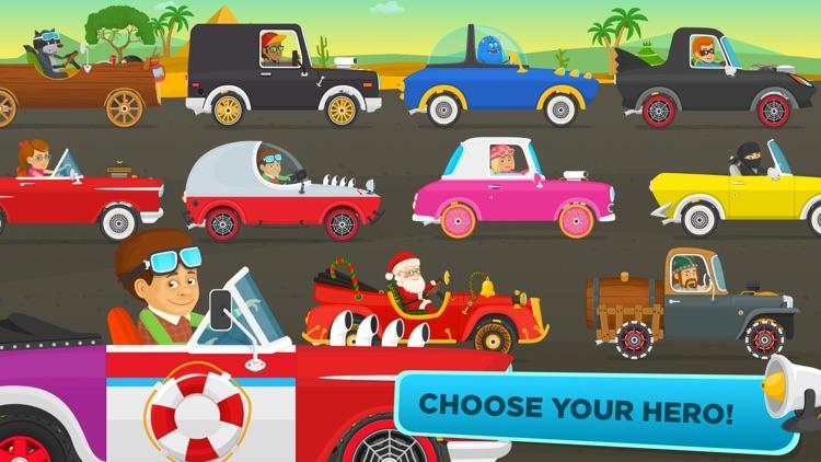 Racing Car Game for Kids 3+ screenshot-4