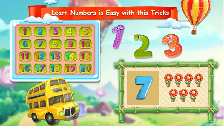 Learn 123 Numbers For Kids