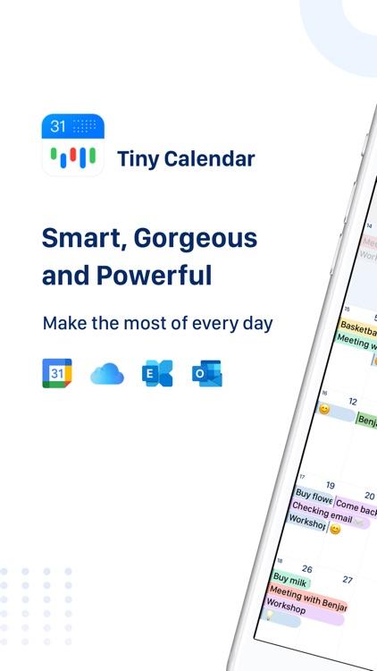 Tiny Calendar: Planner & Tasks screenshot-0