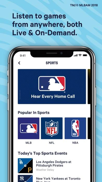 TuneIn: Radio, NFL & Podcasts app image