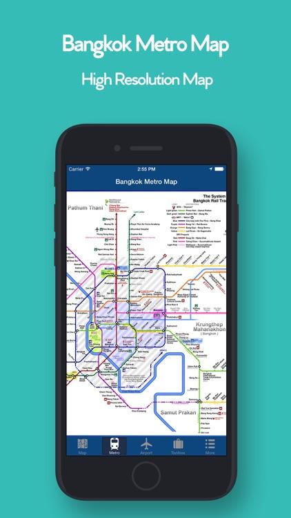 Bangkok Offline Map, Metro