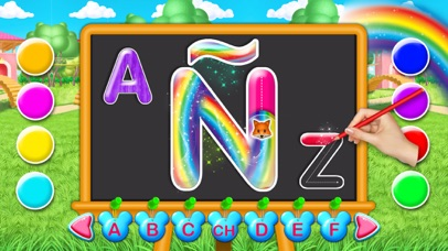 Spanish Alphabet Educational screenshot 1