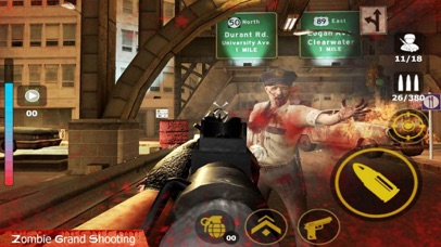 Zombie War - Dead Killer screenshot 1