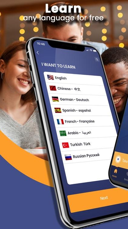 Taleek: English & 9 languages