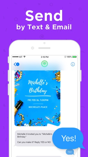 Hobnob invitation cards maker on the app store hobnob invitation cards maker on the app store stopboris Image collections