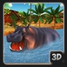 Angry Hippo Simulator icon