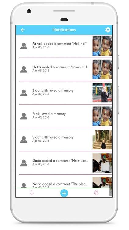 Kidz Memory Lane Baby Album screenshot-8