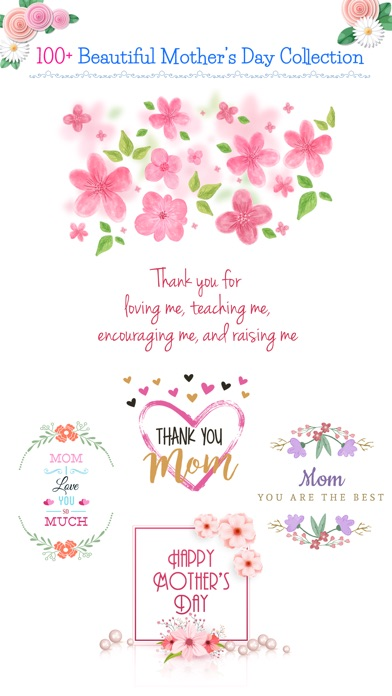 All about Mother's Day Sticker screenshot 1
