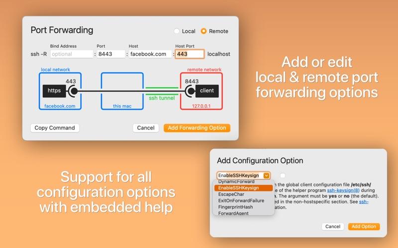 Скриншот №2 к SSH Config Editor для Mac