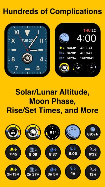 Sundial Solar & Lunar Time screenshot-8