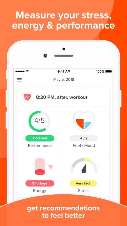Welltory: wellness HRV tracker