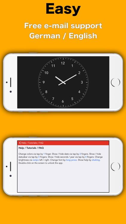 Simply Clock - Analog screenshot-6