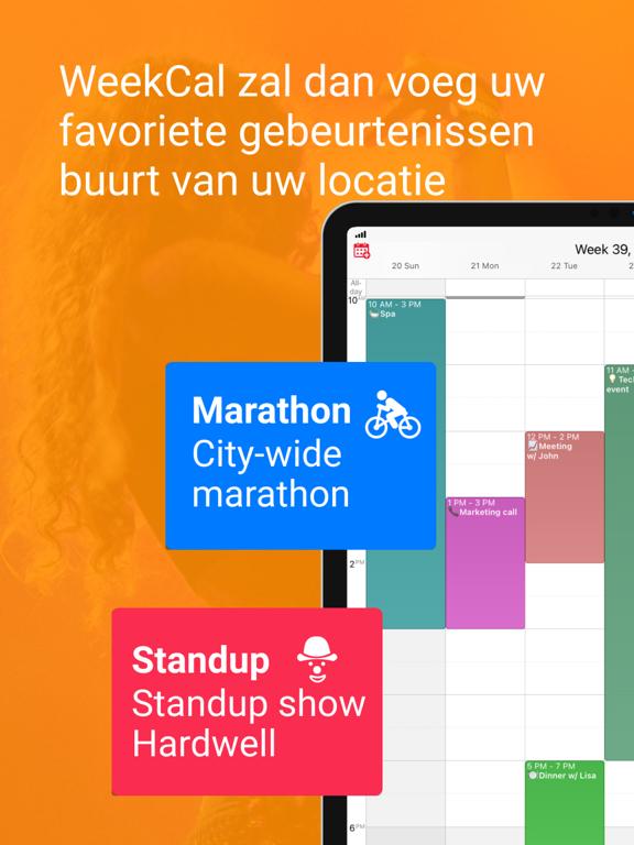 WeekCalendar - Cloud Kalender iPad app afbeelding 7