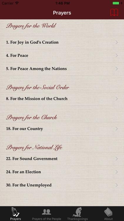 Prayers and Thanksgivings screenshot-3