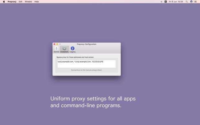 Preproxy